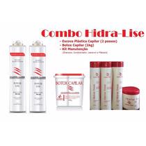 Combo Hidra Lise - Escova Btox E Kit Manutenção