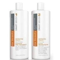 Escova Smart Brush For Beauty Kit Completo Keratin Express