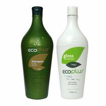 Ecoplus Escova Progressiva Defininitiva 2x1000 Frete Gratis