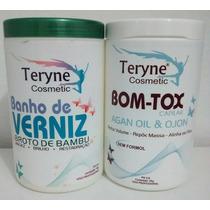 Argan Bott-ox Terynesem Formol Selagem+banho Broto De Bambu