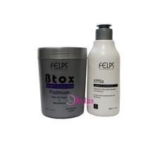 Botox Matizador Felps 500g +shampoo Antirresíduo