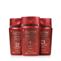Agi Max Red Kit Escova Inteligente Kera-x - 250ml