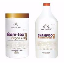 Bo-tox Capilar Óleo De Argan S/formol + Shampoo New Liss 1kg