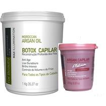 Btox Capilar For Beauty Max Illumin1kg + Btox Platinum 250gr