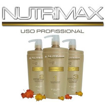 Escova Progressiva Nutrimax / Kit Com 3 Produtos