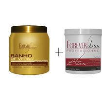 Forever Liss Bo-tox Capilar Argan Oil + Banho De Verniz 1kg.