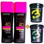 Escova 4d Shymonyah Avancée +2 Hidratações De 250g Grátis