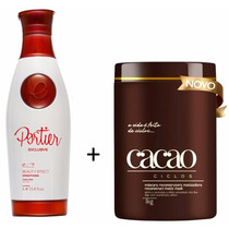 Kit Portier Progressiva Passo 2 1l + Botox Cacao 1kg