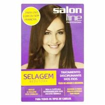 Kit Selagem Redutora De Volume Salon Line Todos Tipos De Cab