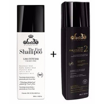 Shampoo The First Sweet Hair Liso Intenso + Sweet Passo 2