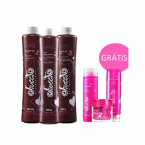 Sweet Professional Lovely Kit Escova Progressiva - 3x 500ml