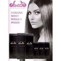 Escova Progressiva Sweet Hair (3 X 980ml) - Sem Formol