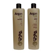 Profissional Escova Progressiva Argan Oil 2x1000ml Vip
