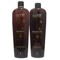 Hair Vip Profissional Escova Progressiva Argan Oil - 1000ml