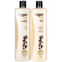 Escova Progressiva Vip Argan Oil 2x1000ml Super Promocao