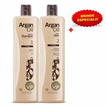 Nova Escova Progressiva Vip Argan Oil + Brinde Especial!!!