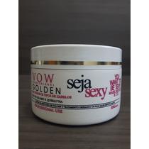 Botox Vow Seja Sexy Golden 300gr Máscara Redutora De Volume