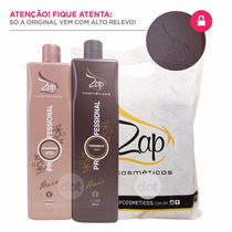 Kit Escova Progressiva Zap Protevida Original Lacrada 2litro