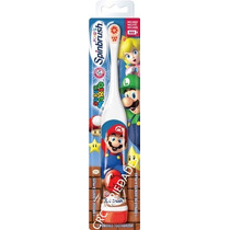 Escova De Dentes Eletrica Infantil Super Mario - Crcvariedad