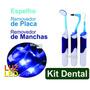 Kit Dentário Dentes Remove Placas Manchas Clareador - M Shop