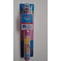 Escova Dental Elétrica Infantil Princesas
