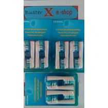 Refil Escova Dente Eletrica Oral B Braun 2cabeca Dual 12 Und