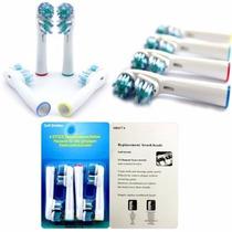 2 Cabeças De Escova De Dentes Elétrica Para Braun Oral B