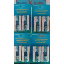 Kit Refil Escova Dente Eletrica Oral B Braun 2 Cabeca 16 Und