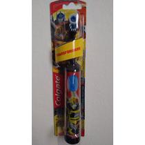 Escova Dental Elétrica Infantil Transformers Bumbleebee