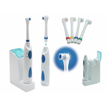 Escova Dental Eletrica Recarregavel P/d`agua Indicador Led