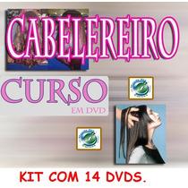 Cabelereiro Curso 14 Dvds Aulas Completo! Pag Com M Pago