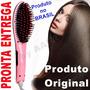Escova Alisadora Elétrica Mágica Fast Hair Straightener Lcd