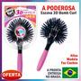 Escova 360° 3d Hair Bomb Curl Brush Ball Modeladora De Cacho