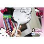 Escova De Cabelo Hello Kitty A Pronta Entrega Nova