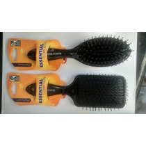 Kit Escova Para Mega Hair E Profissional Cerdas Mista