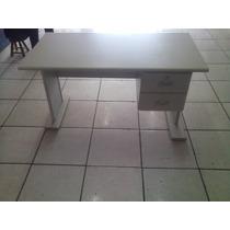 Mesa De Escritório Com 2 Gavetas 1,32 X 0,70 (usada)