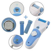Esfoliador Eletrico Para Pés (lixa, Limpa E Suavisa)+2 Lixas