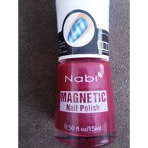 Esmaltes Magnéticos Importados Nabi Com Imã Estrela Ace #48