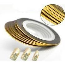 Fio De Ouro Fita Adesiva Unha+brinde Pulseira Compre3 Ganhe2