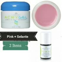 Star Nail Acrygel Pink + Selante (2 Itens)