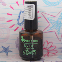 Primer Mild East Base Gel + 500 Tips Transparente Reta Unhas