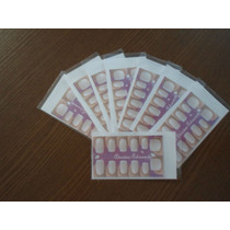 Kit Para Fazer Adesivos Artesanais Com Molde Doze Unhas