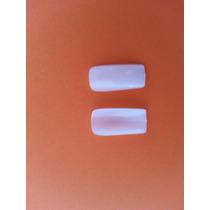 Tip Unha Postiça Flase Natural 500 Unid Gel Porcelana