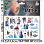 Tatuagem Frozen Tattoo Elsa Disney Entrega Imediata Kit C/3
