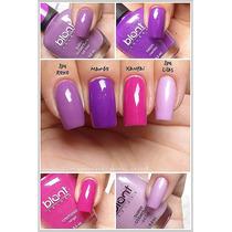 Kit Com 5 Esmaltes Blant Colors. 70 Cores À Sua Escolha