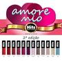 Esmalte Hits Coleção Amore Mio - 2ª Edição - Kit 12 Cores