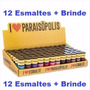 Esmalte I Love Paraisópolis Lançamento Kit 12 Cores Coleção