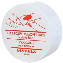 Mavala Nail Polish Remover Pads Contém 30 Pads
