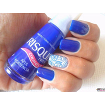 Kit Com 100 Esmaltes Risque Cores Exclusivas .