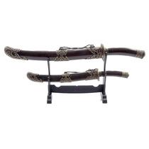 Espada Samurai Sabre Hk 33-34 Com Suporte Abridor De Cartas